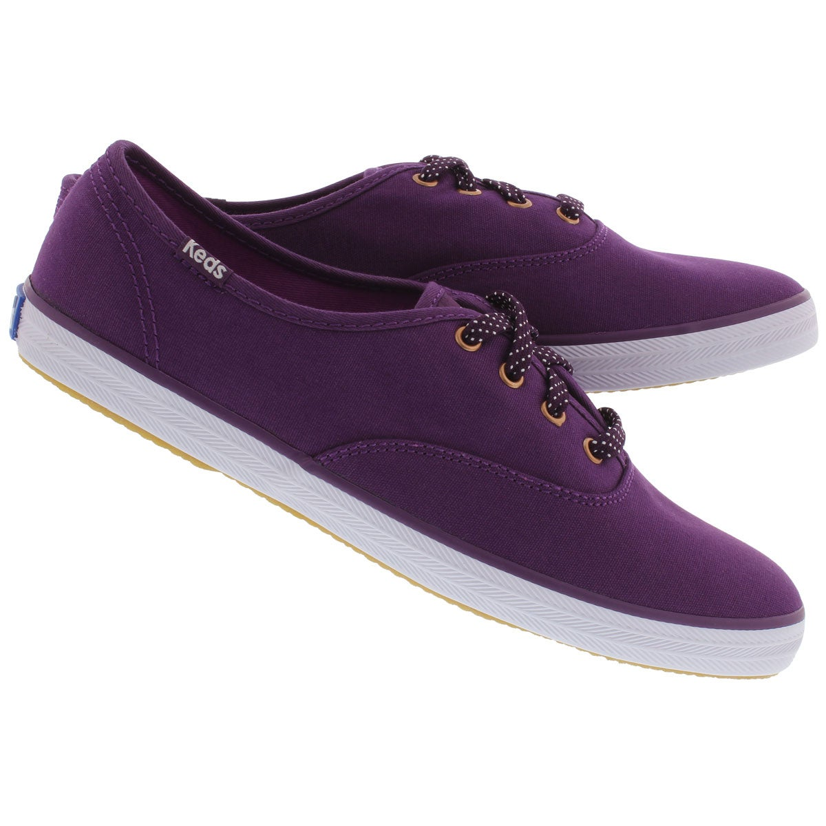 Lds Champion Solid purple canvas sneaker