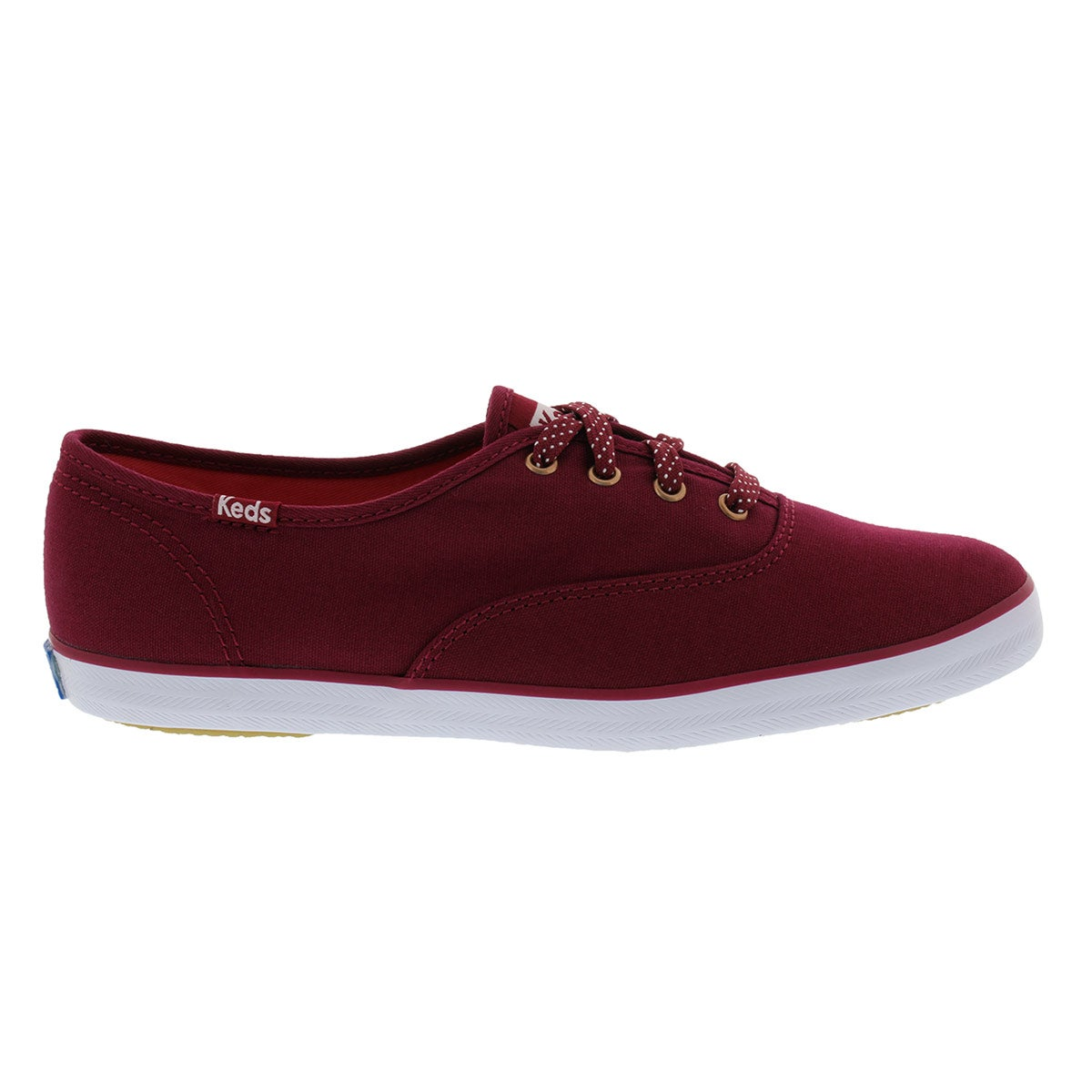 Lds Champion Solid red canvas sneaker