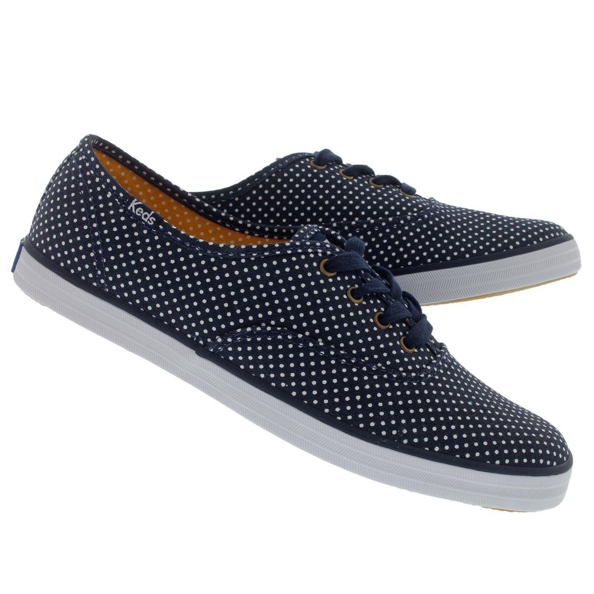 Lds Champion Micro Dot navy sneaker