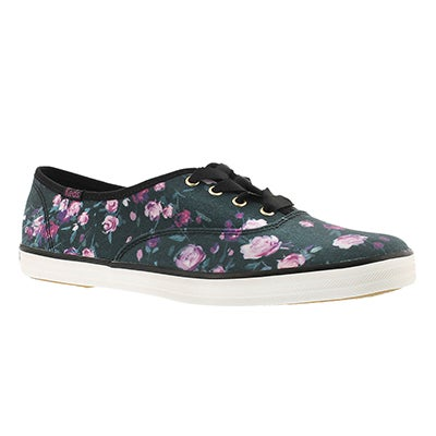 Keds Women's FROST FLORAL black printed sneakers