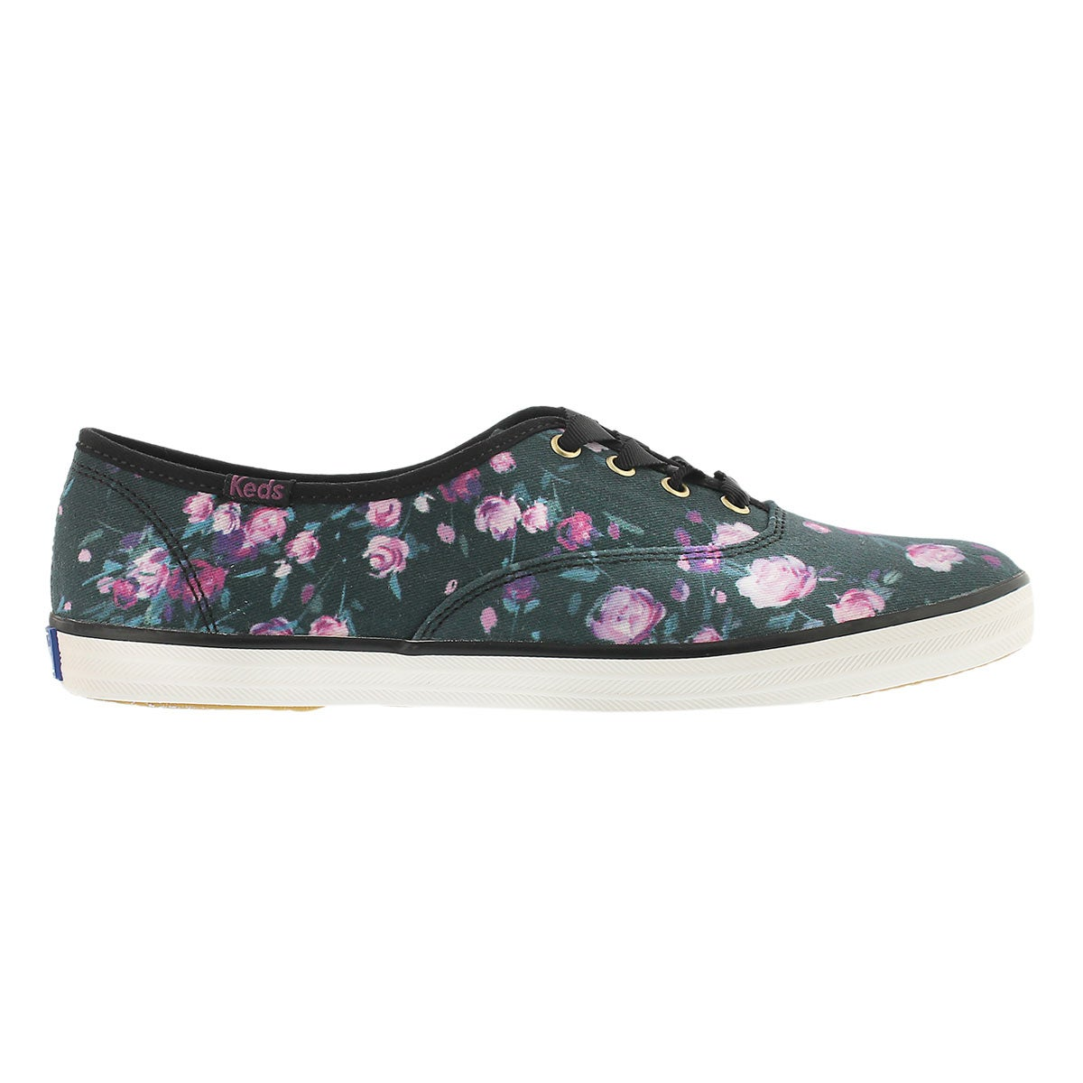 Lds Frost Floral black printed sneaker
