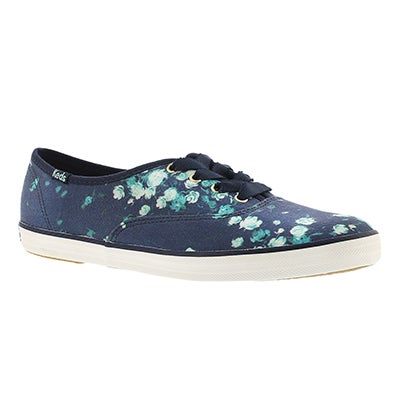 Keds Women's FROST FLORAL navy printed sneakers