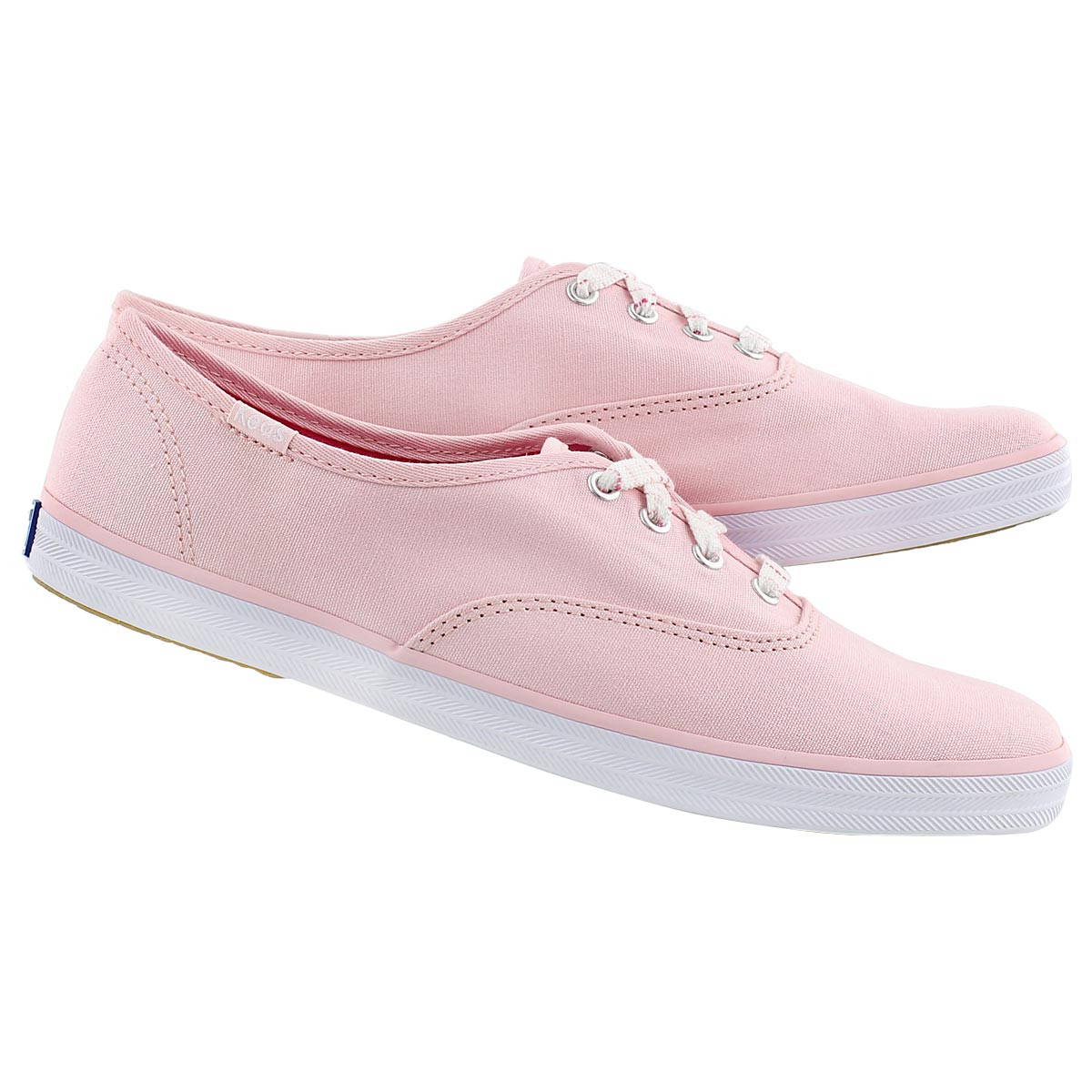 Lds Champion light pink canvas sneaker