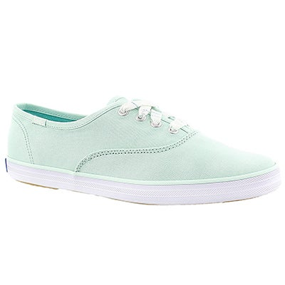 Keds Women's CHAMPION brook green canvas sneakers