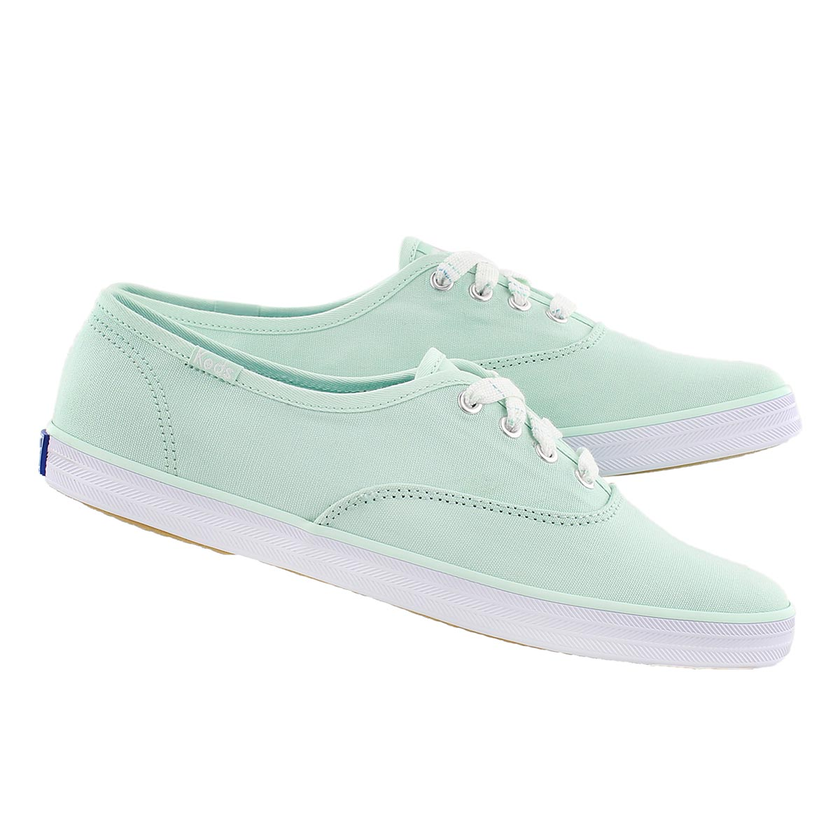 Lds Champion brook green canvas sneaker