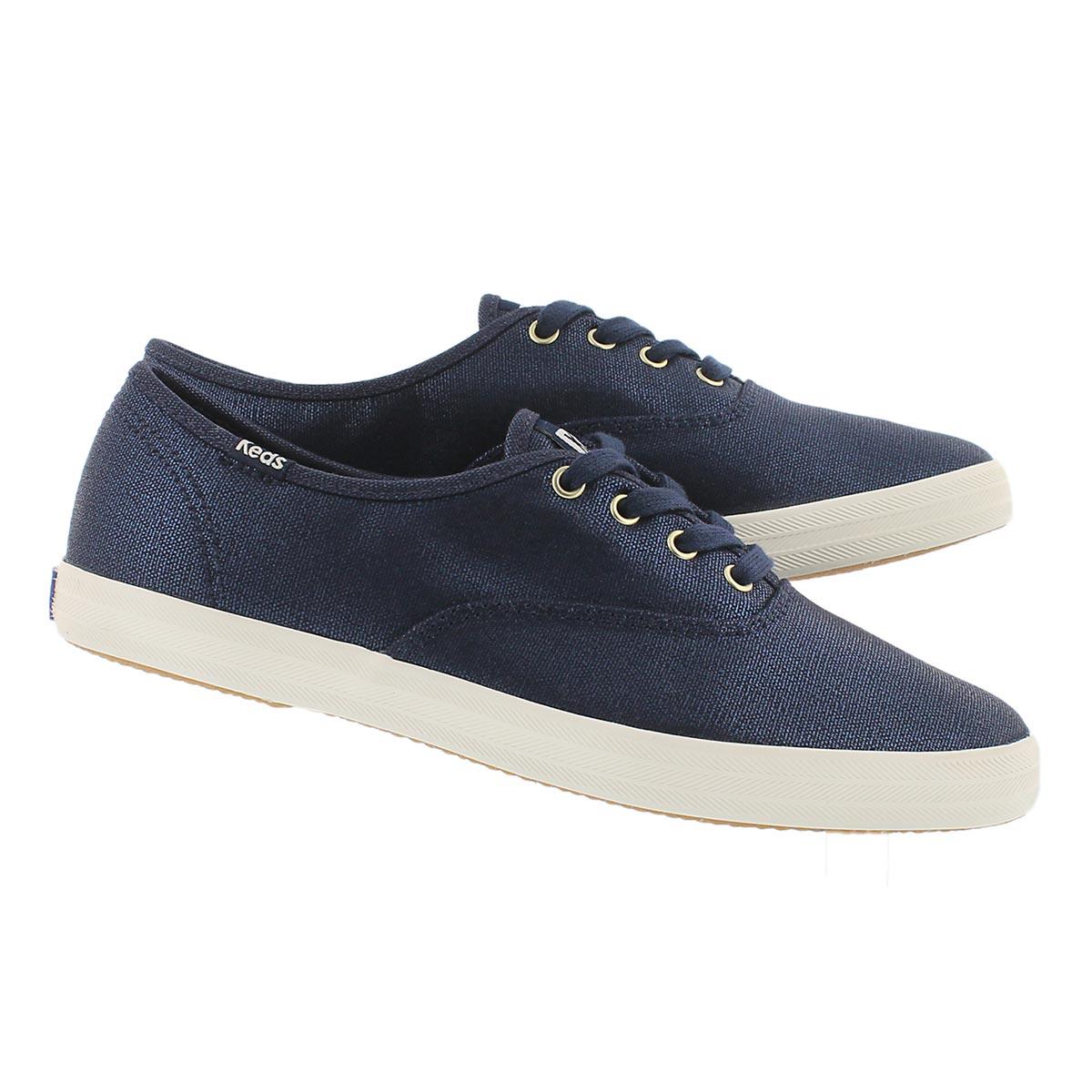 Lds Champion navy metallic sneaker