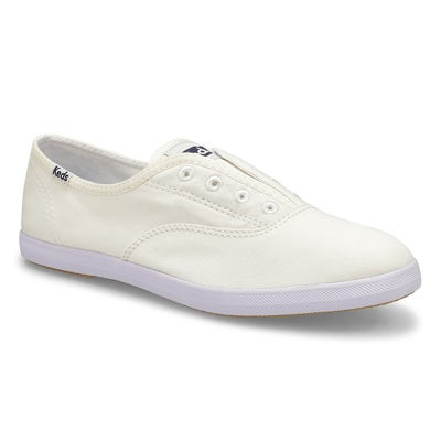 Keds Women's CHILLAX white slip on sneakers