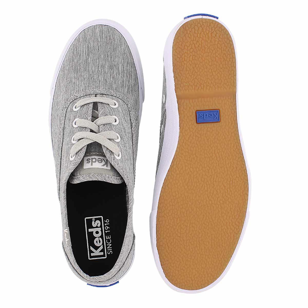 Lds Triumph grey fashion sneaker