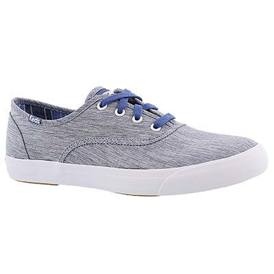 Keds Women's TRIUMPH NYLON blue fashion sneakers