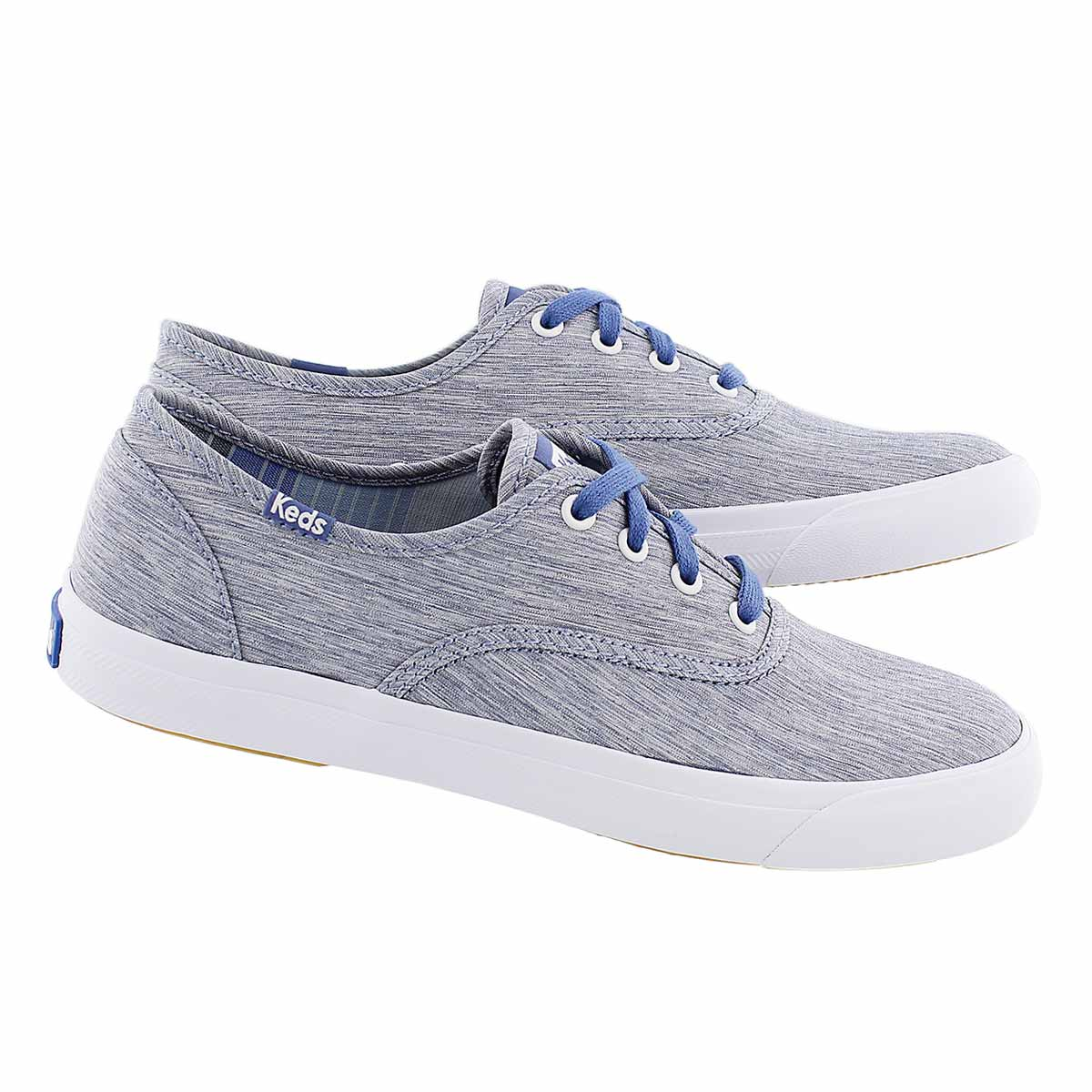 Lds Triumph blue fashion sneaker