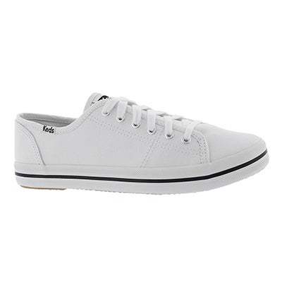 Keds Women's KICKSTART CVO white canvas sneakers