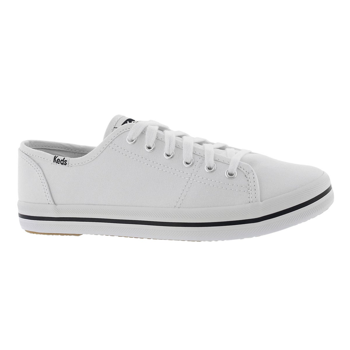 Women's KICKSTART CVO white canvas sneakers