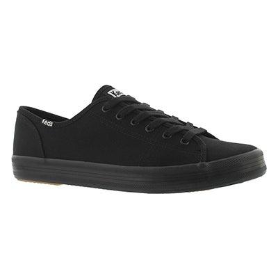 Lds Kickstart blk/blk CVO canvas sneaker