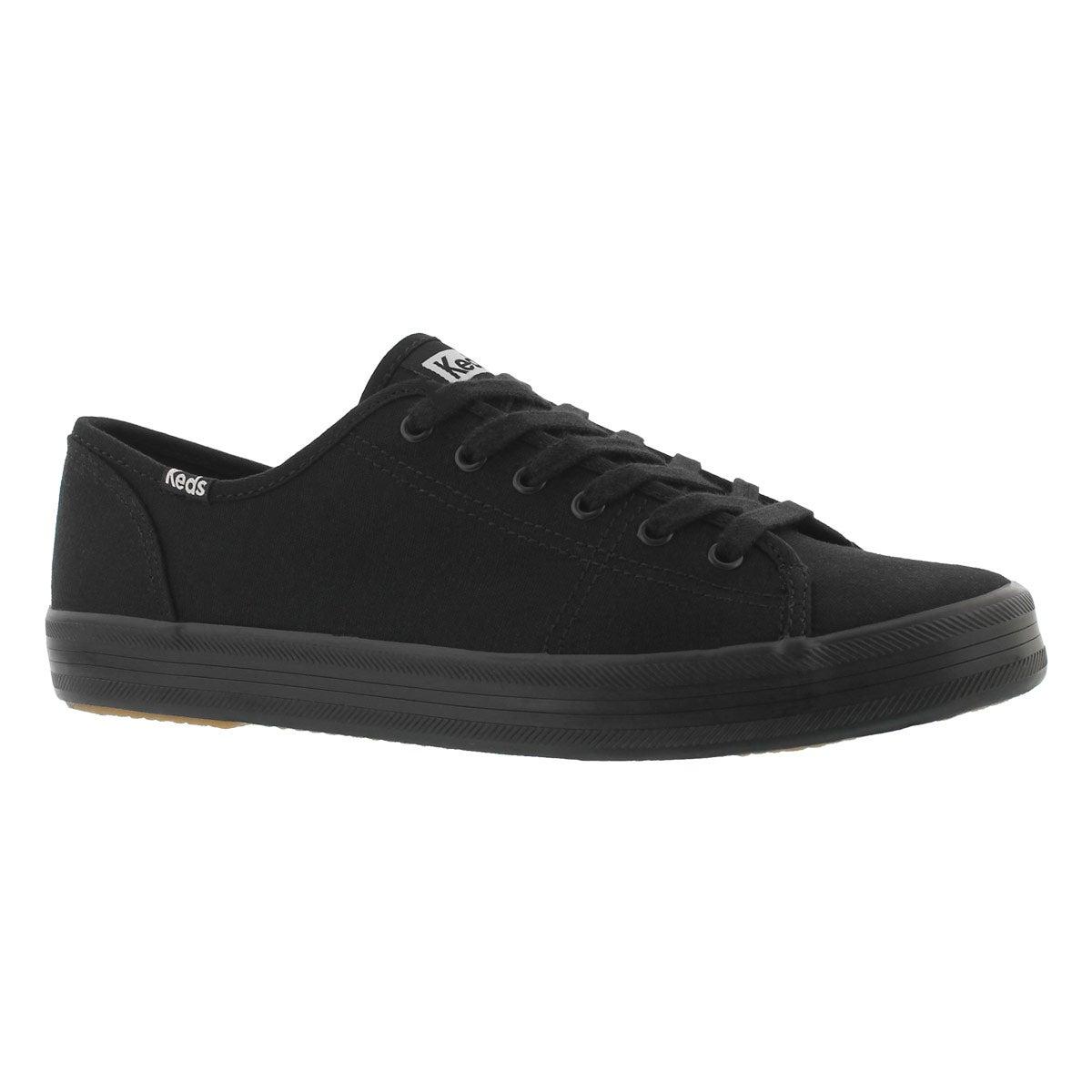 Women's KICKSTART black/black CVO canvas sneakers
