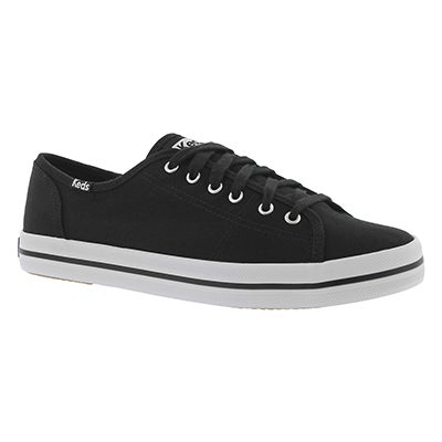 Keds Women's KICKSTART CVO black canvas sneakers