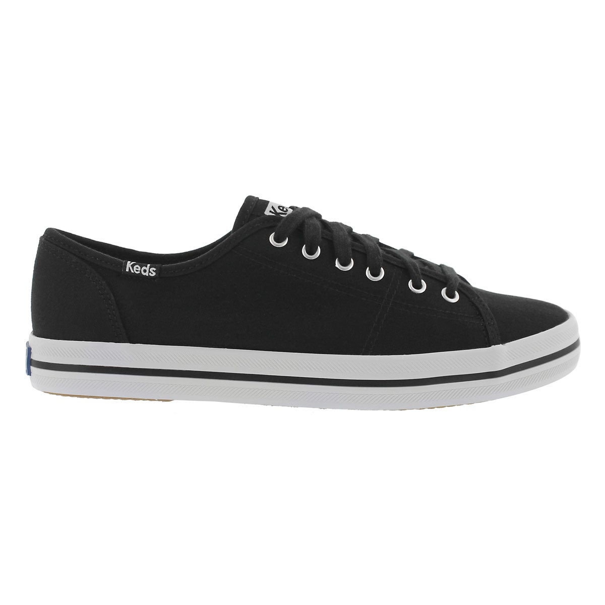 Lds Kickstart black CVO canvas sneaker