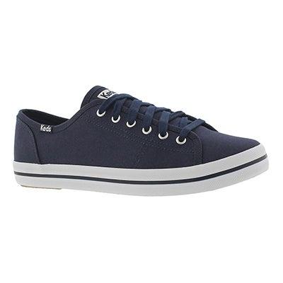 Lds Kickstart navy canvas CVO sneaker