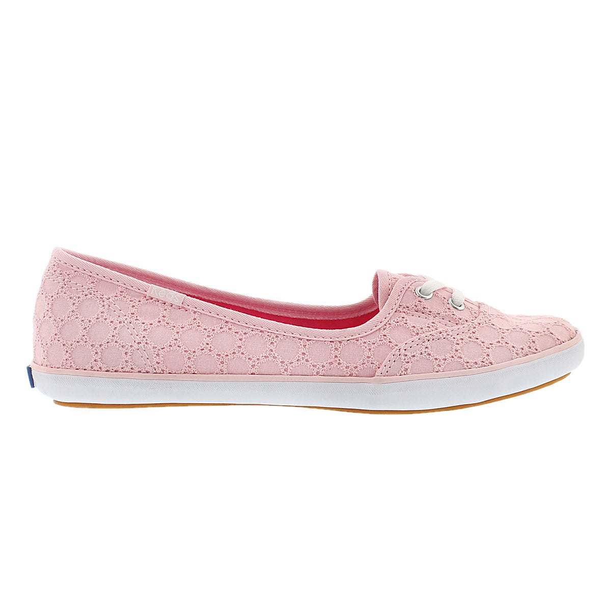 Lds Teacup Eyelet light pink slip on