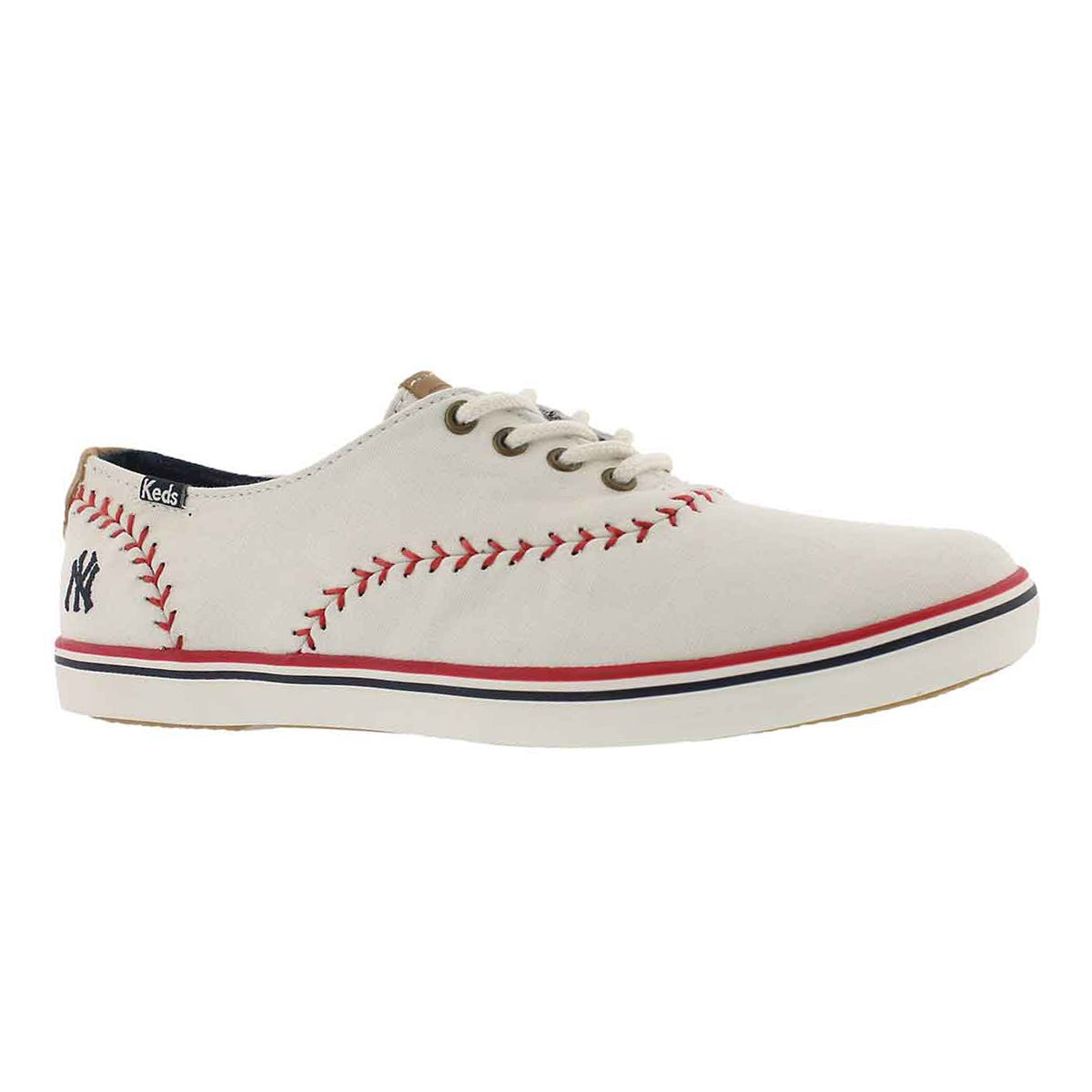 Women's CHAMPION PENNANT Yankees cream sneakers