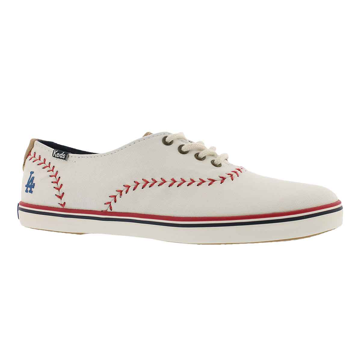 Women's CHAMPION PENNANT Dodgers cream sneaker