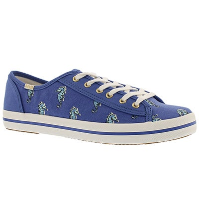 Keds Women's KATE SPADE KICKSTART blue sneakers