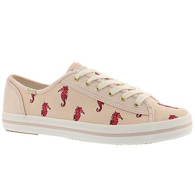 Lds Kate Spade Kickstart lt pink sneaker