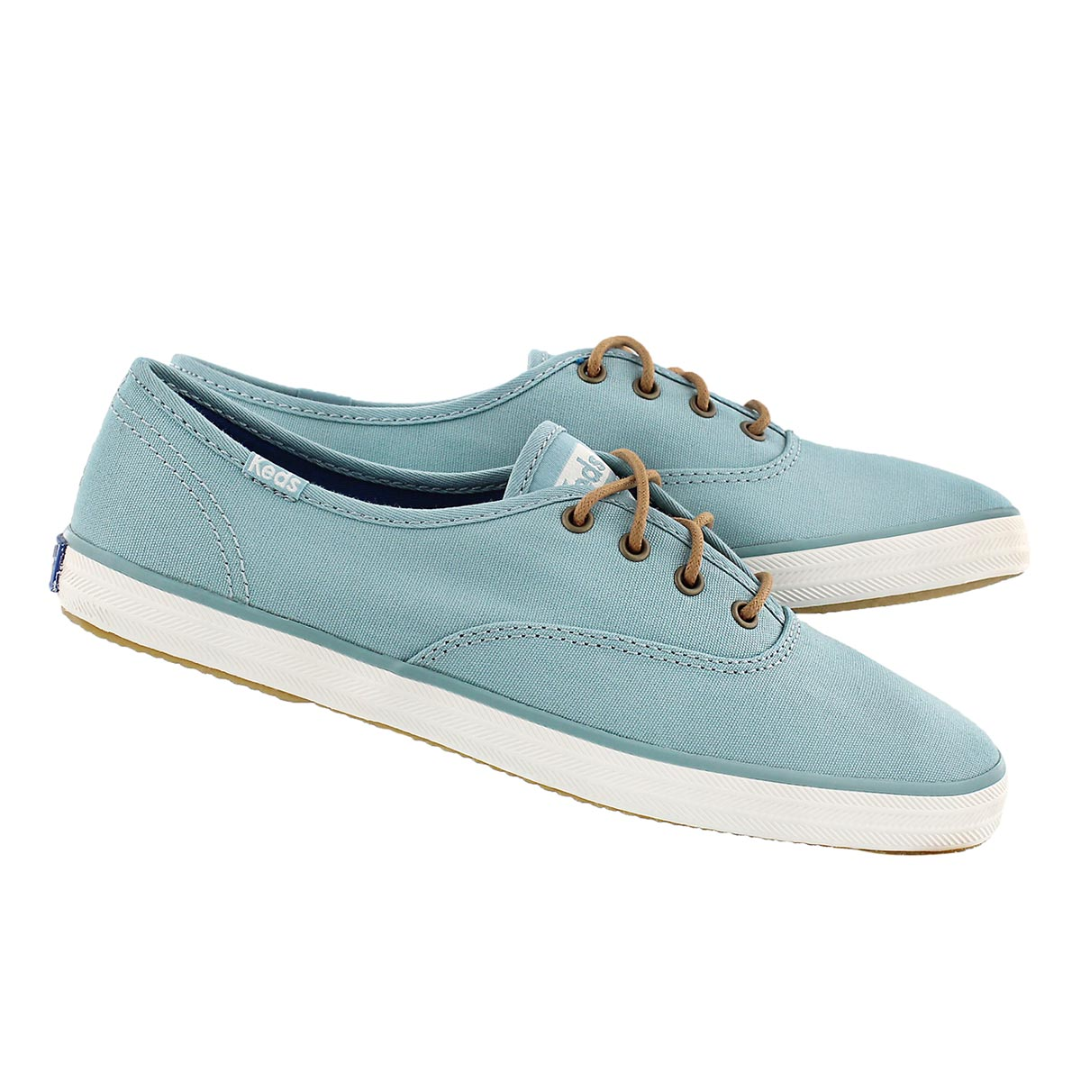 Lds Champion dusty blue canvas sneaker