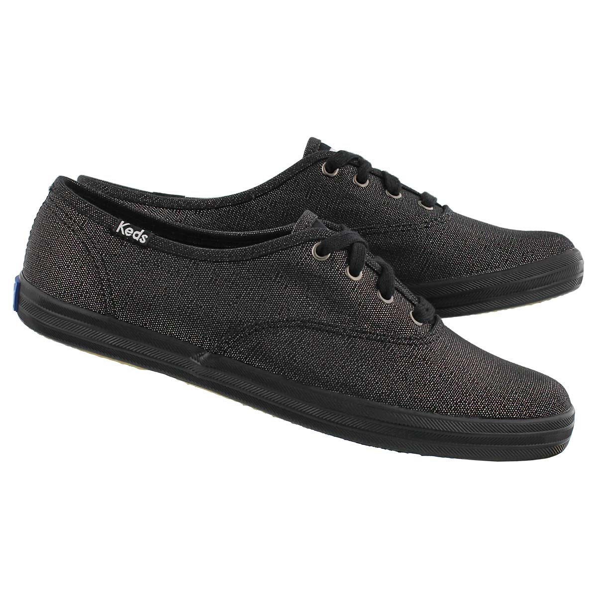 Lds Champion blk/blk metallic sneaker