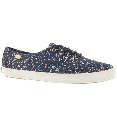 Keds Women's CHAMPION LIBERTY navy multi sneakers