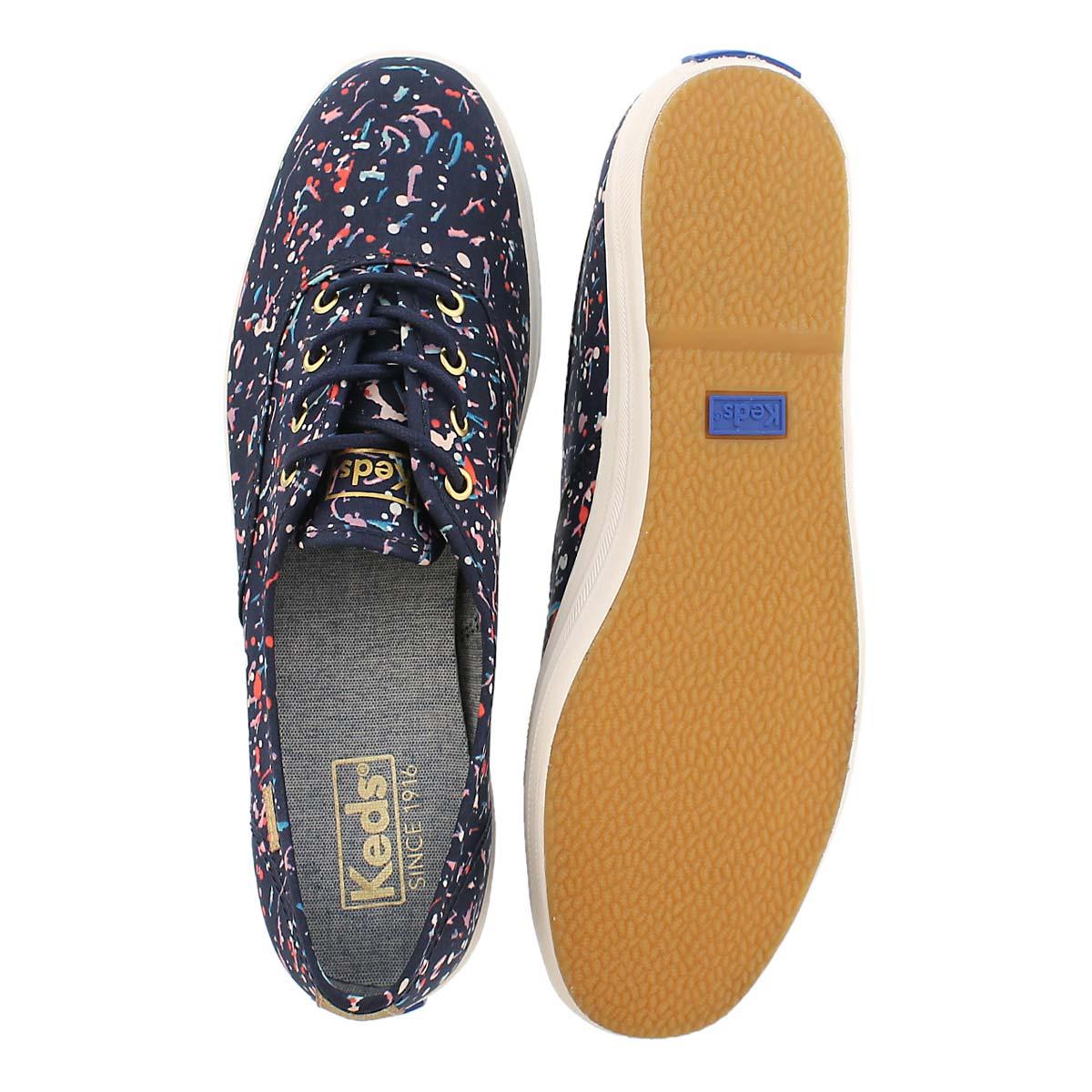 Lds Champion Liberty navy multi sneaker