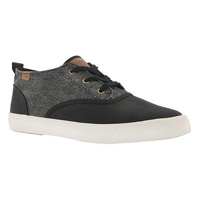 Lds Triumph Mid dk grey lace up sneaker