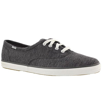 Keds Women's CHAMPION JERSEY graphite sneakers