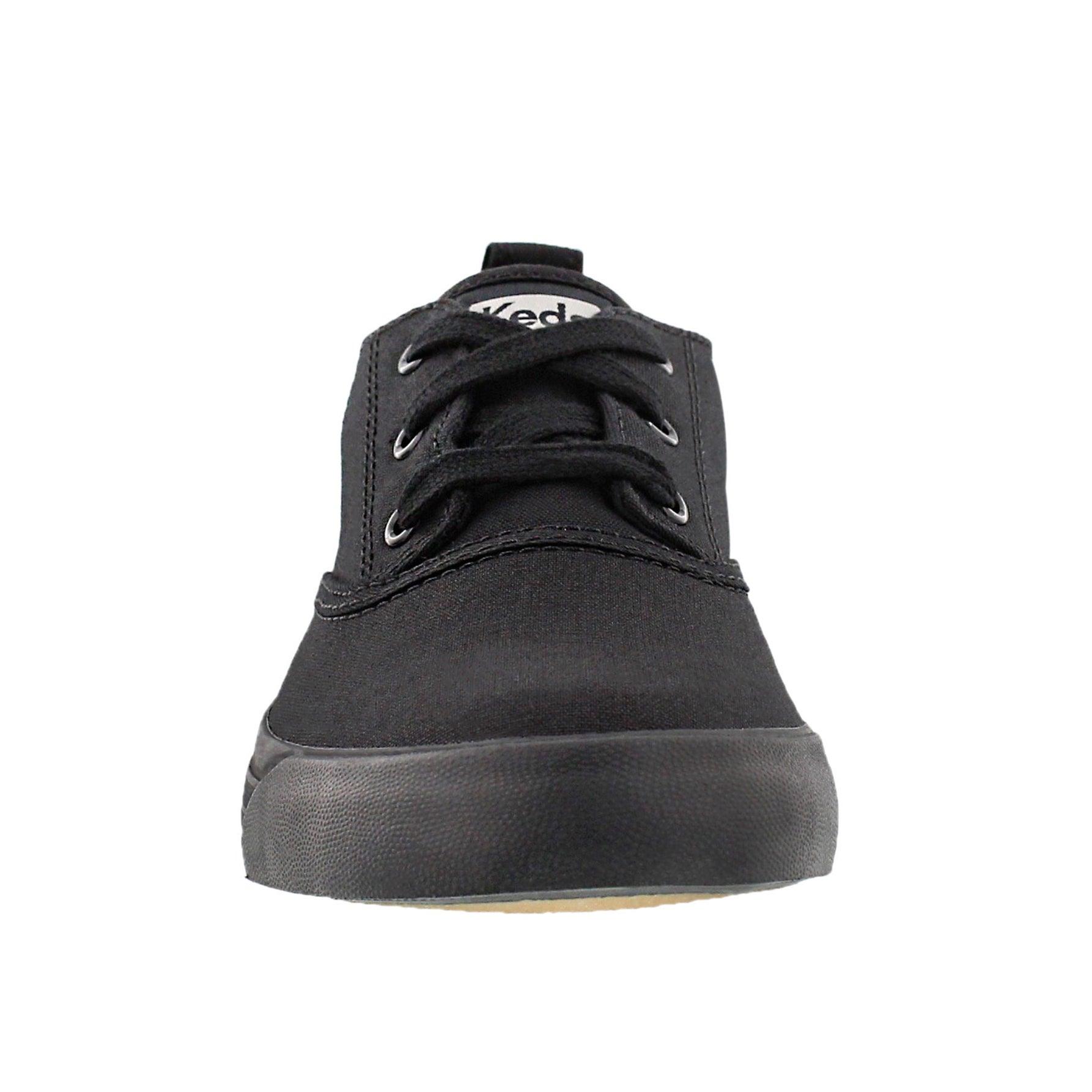 Lds Triumph Mid blk/blk lace up sneaker