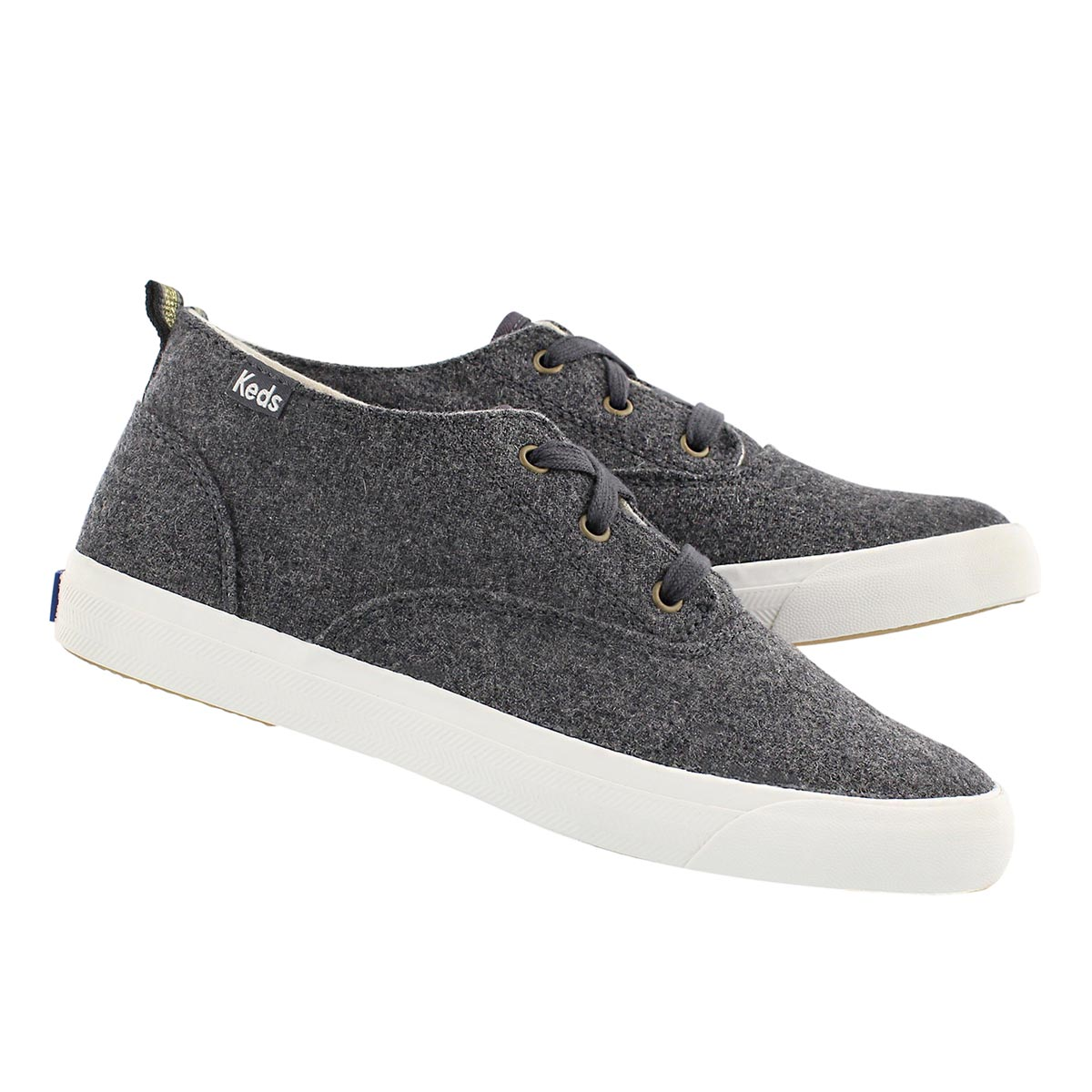 Lds Triumph Mid Wool graphite sneaker
