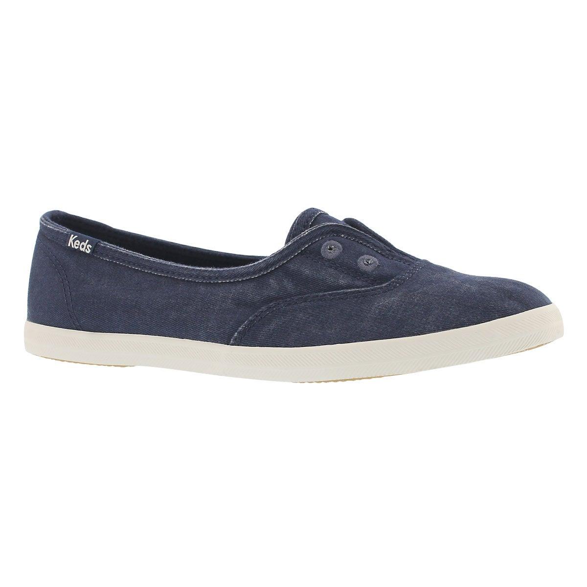 Women's CHILLAX MINI navy sneakers
