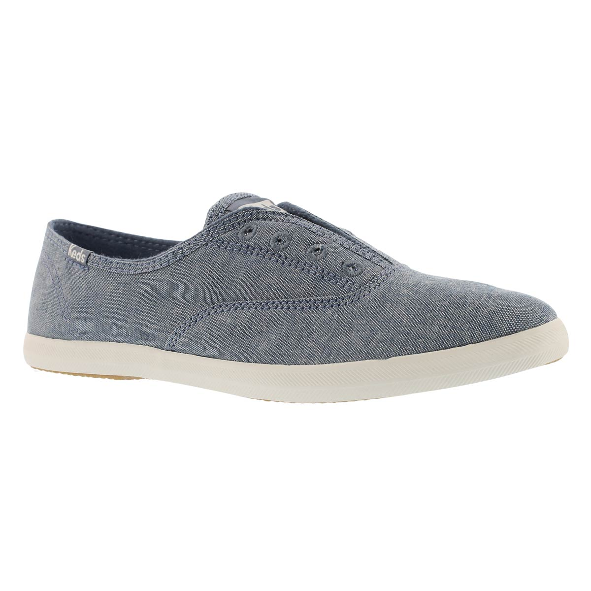Women's CHILLAX dark blue slip on sneakers