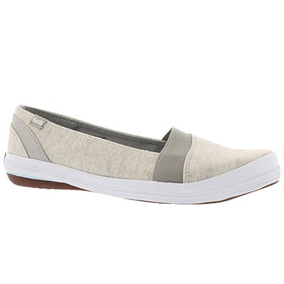 Lds Cali lt grey casual slip on