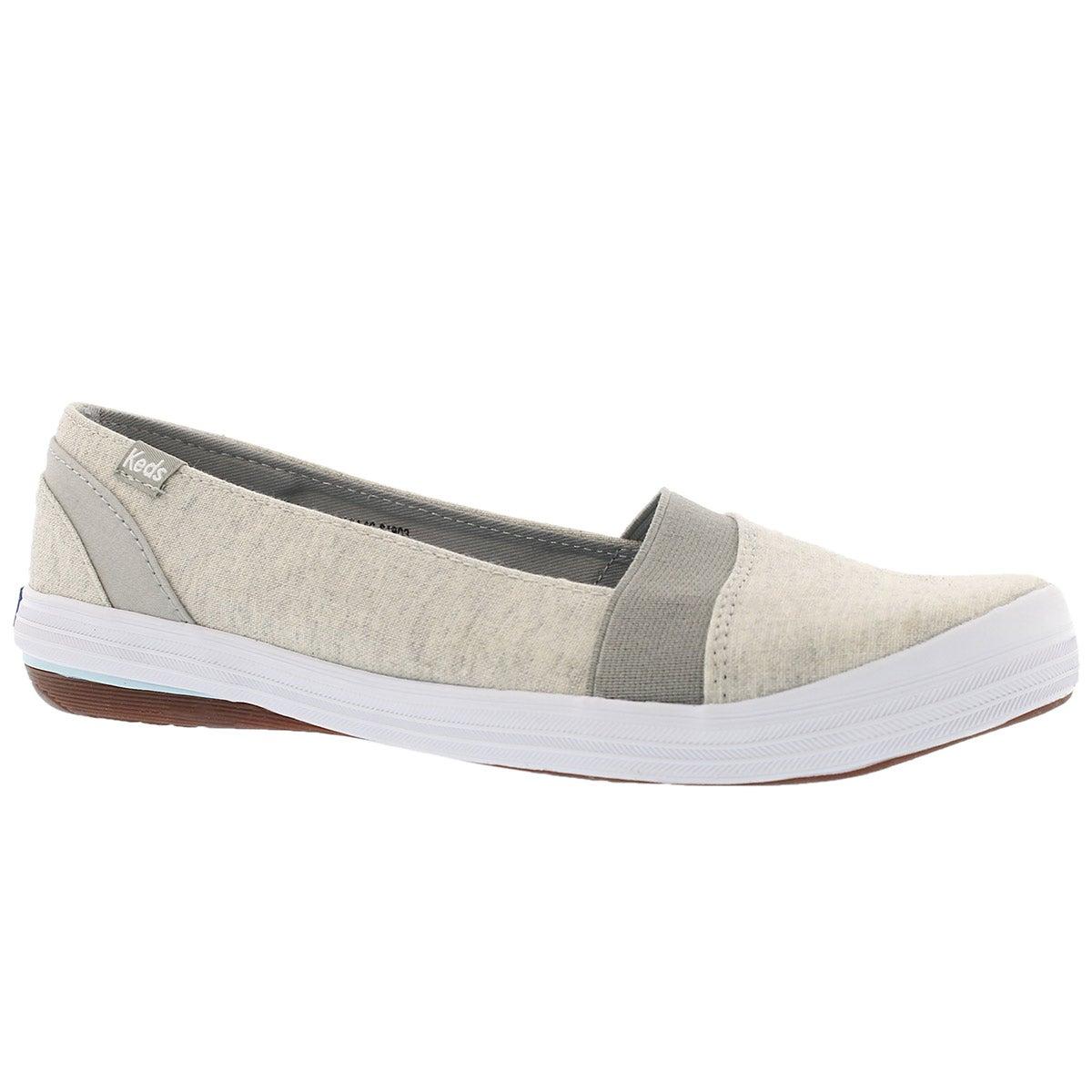 Women's CALI light grey casual slip ons