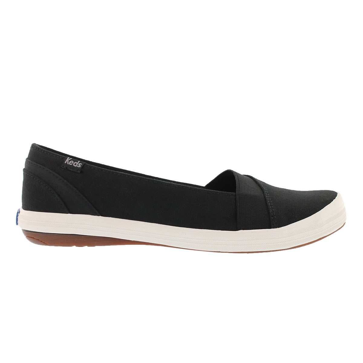 Lds Cali black casual slip on