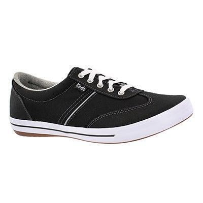 Lds Craze II blk lace up sneaker