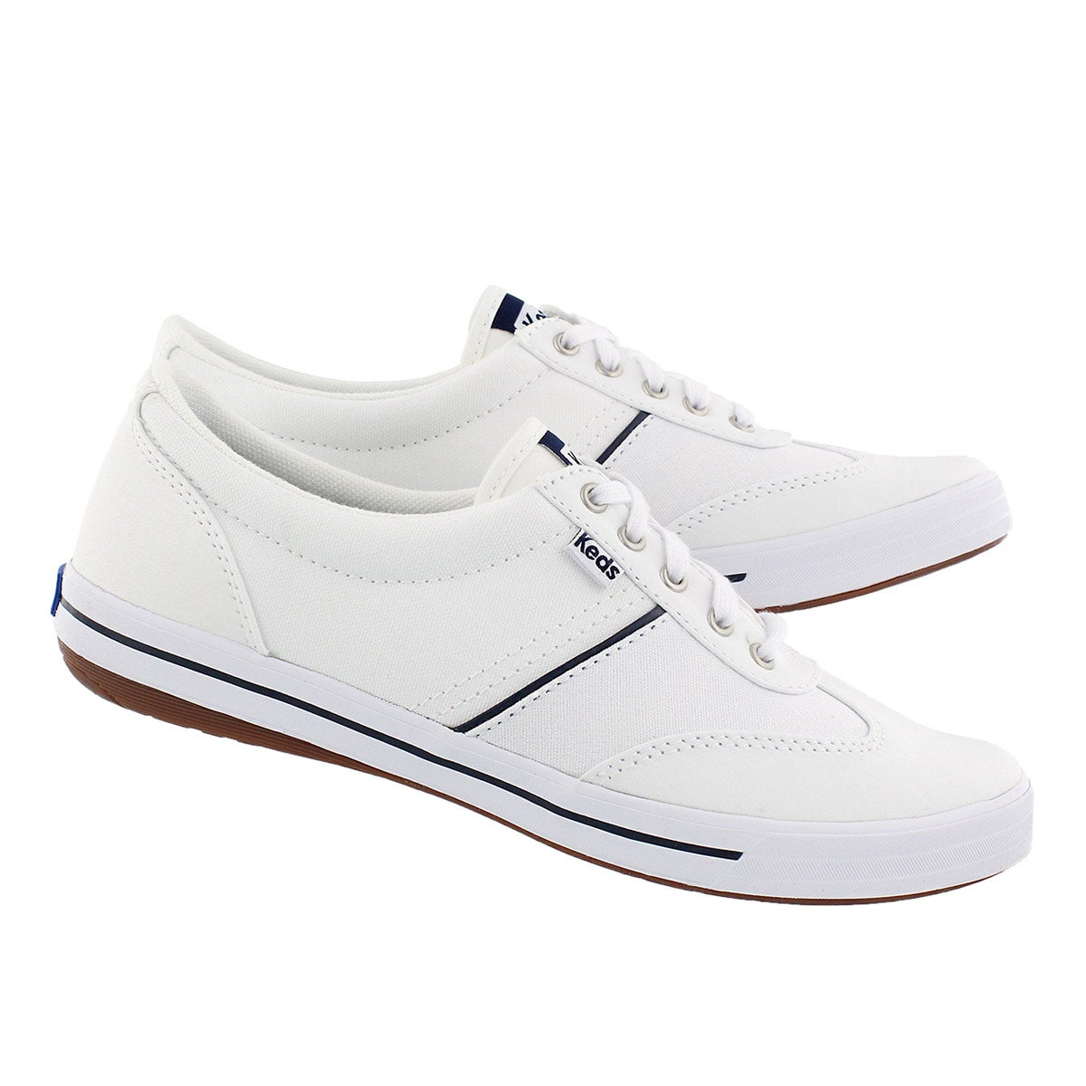 Lds Craze II white lace up sneaker