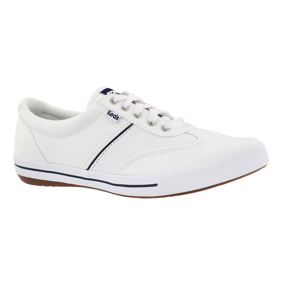 Women's CRAZE II white lace up sneakers
