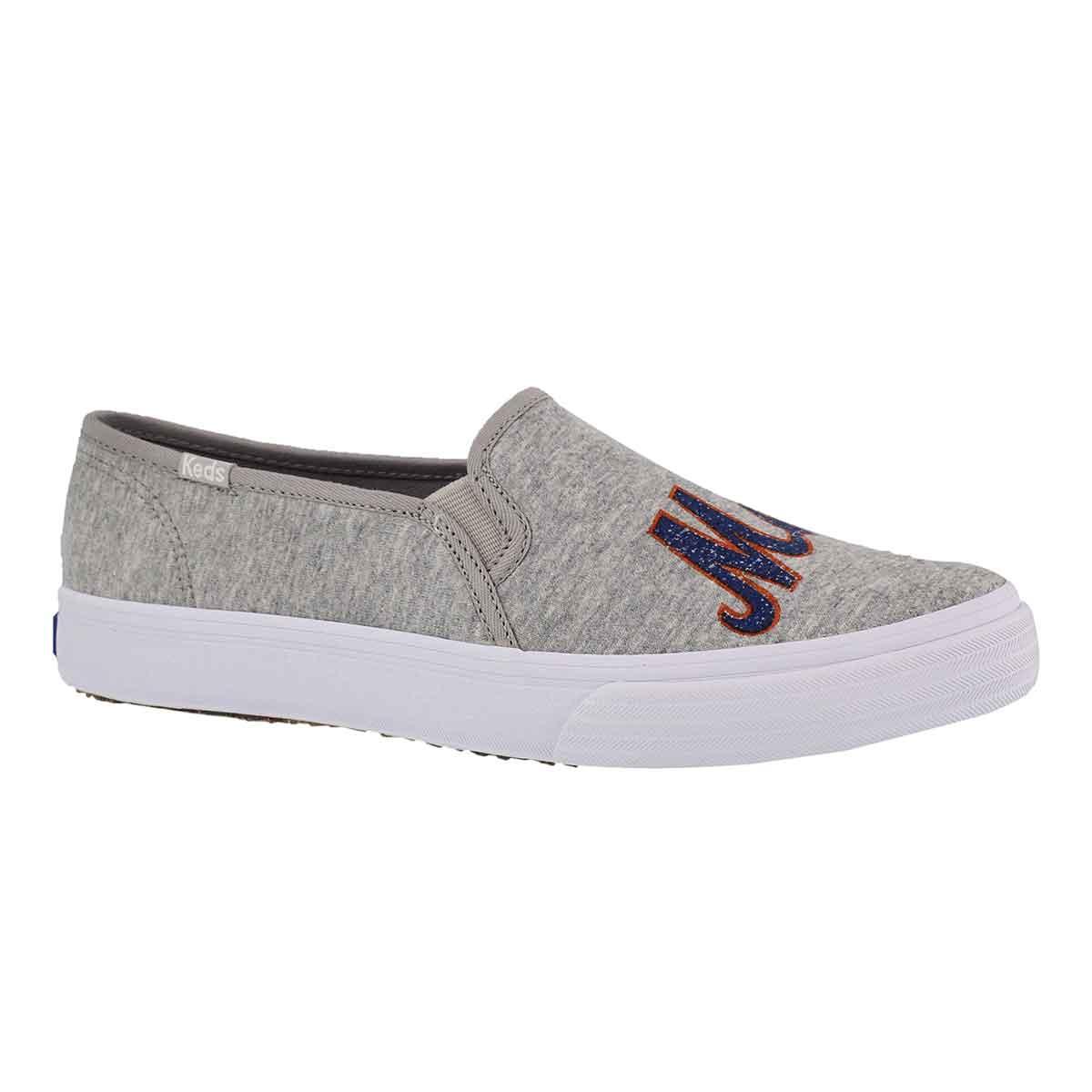 Women's DOUBLE DECKER Mets grey sneaker