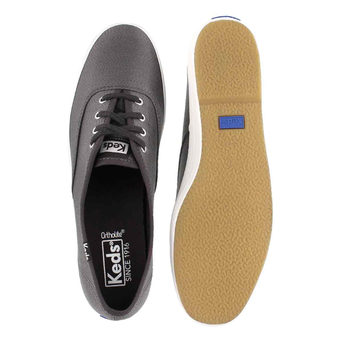 Lds Champion Lurex slate sneaker