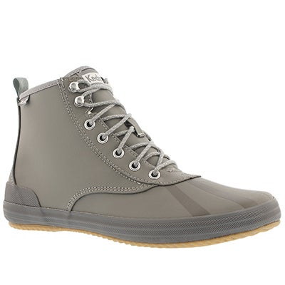 Lds Scout Splash Cozy grey ankle boot
