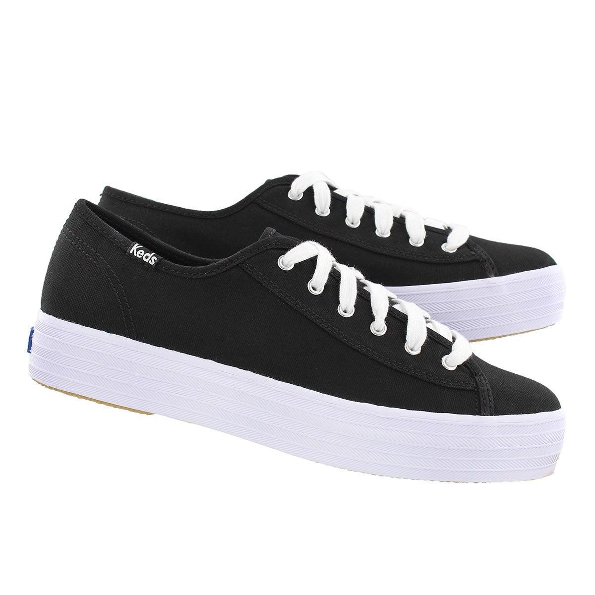 Lds Triple Kick blk/wht sneaker