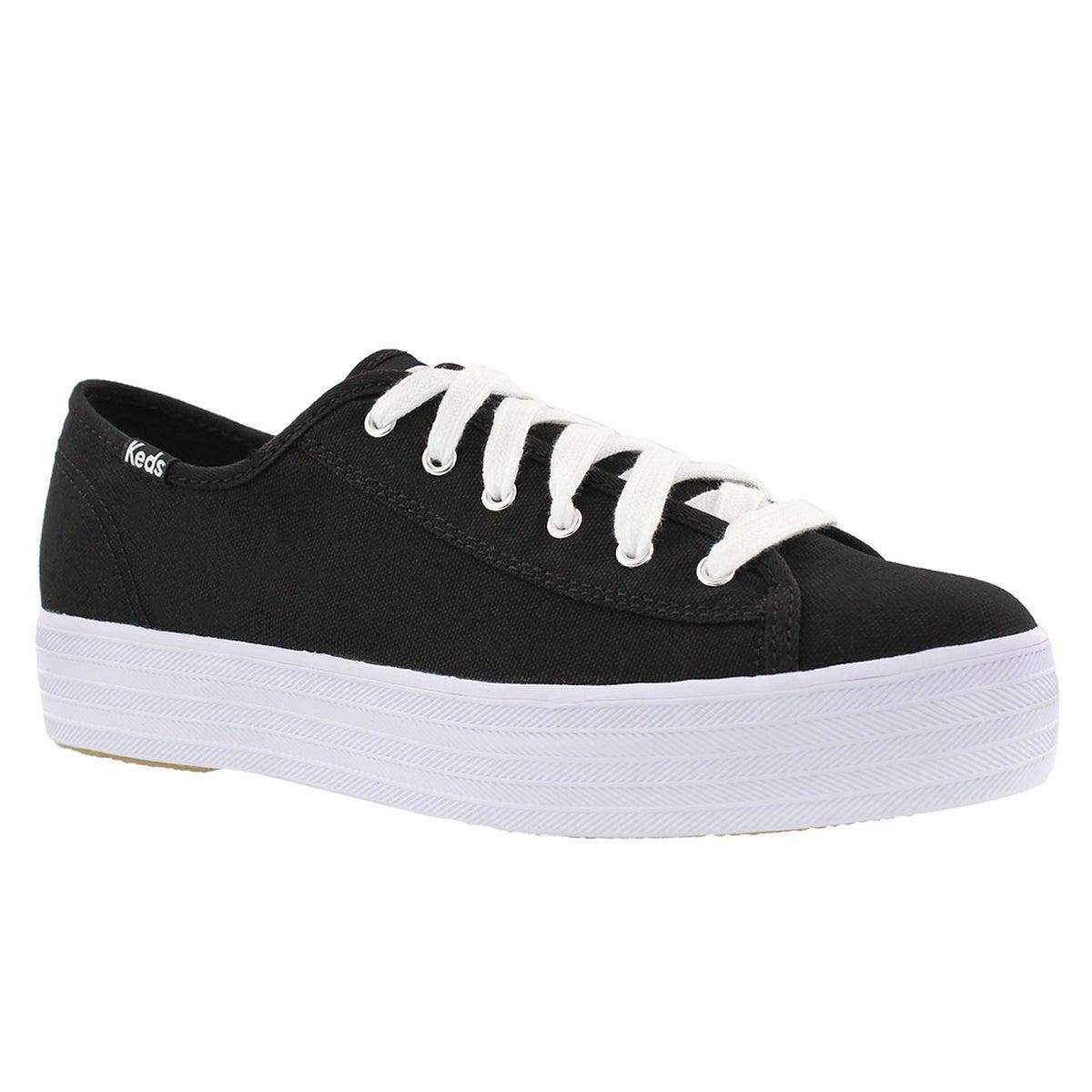 Women's TRIPLE KICK black/white sneakers