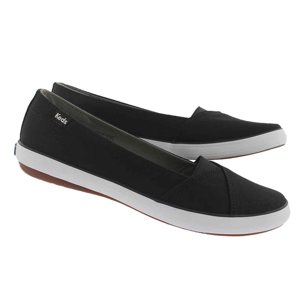Lds Cali II black casual slip on