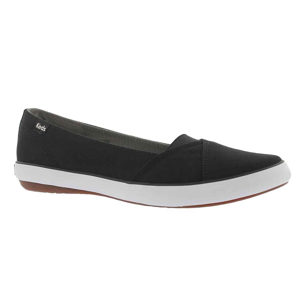 Women's CALI II black casual slip on sneaker