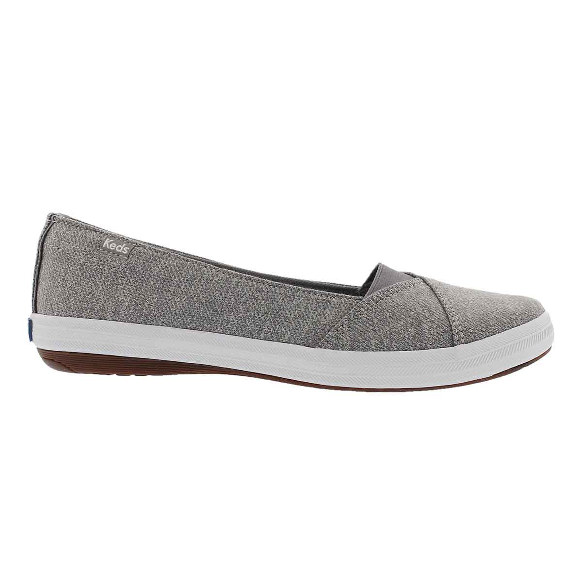 Lds Cali II Studio grey casual slip on